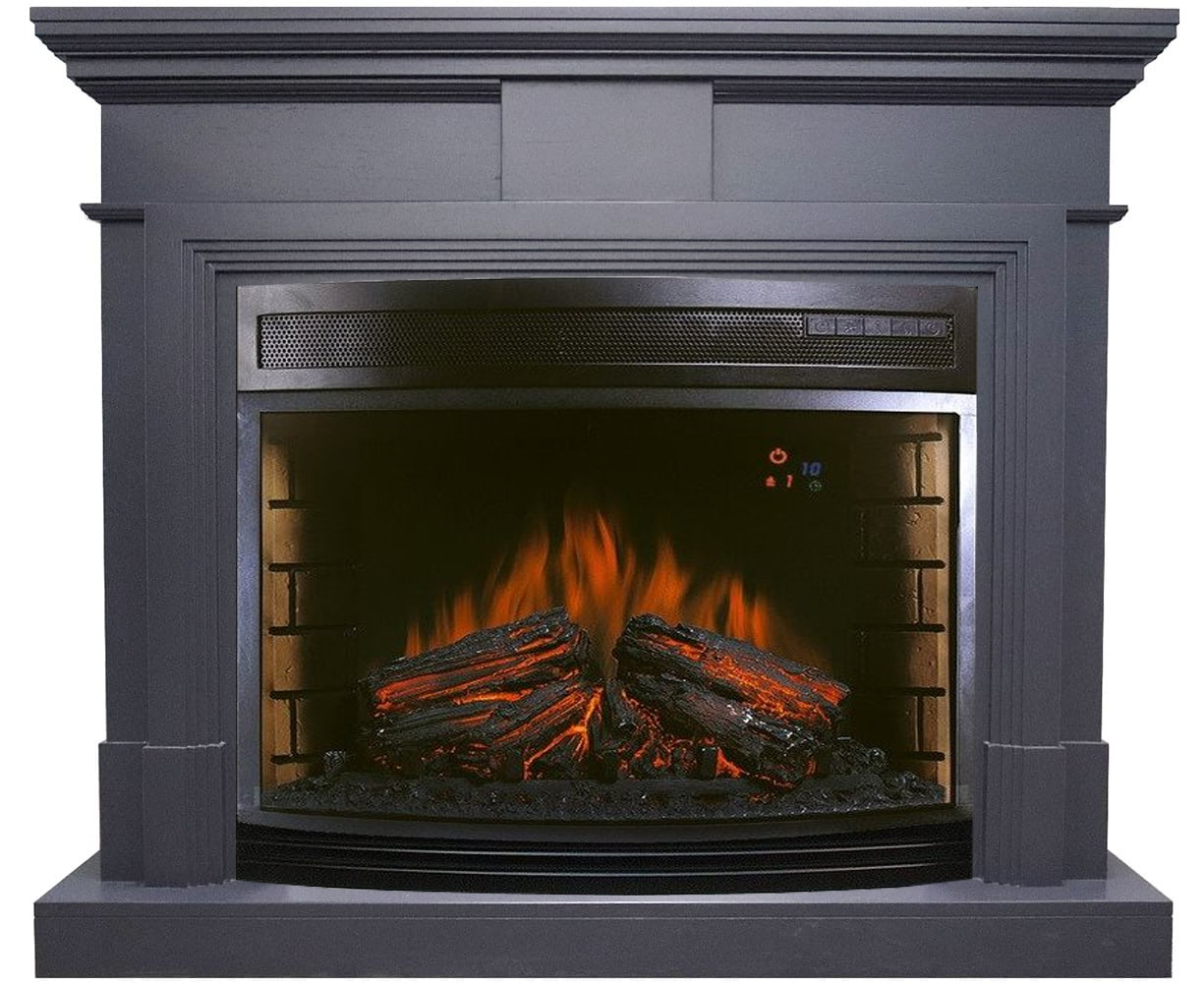 Каминокомплект Royal Flame Coventry Graphite Grey с очагом Dioramic 28 LED FX