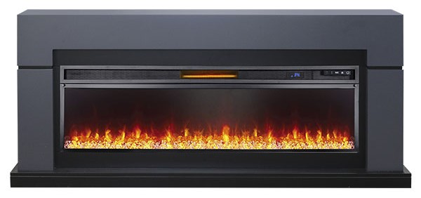 Каминокомплект Royal Flame Lindos Graphite Grey с очагом Vision 60 LED